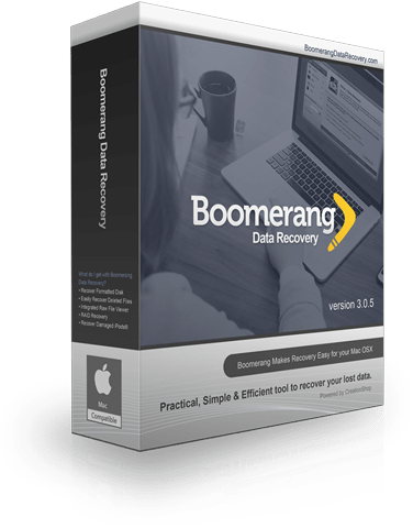 Boomerang Mac OS X Data Recovery