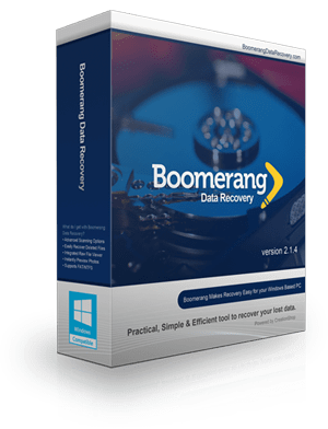 Boomerang Data Recovery Software for Windows