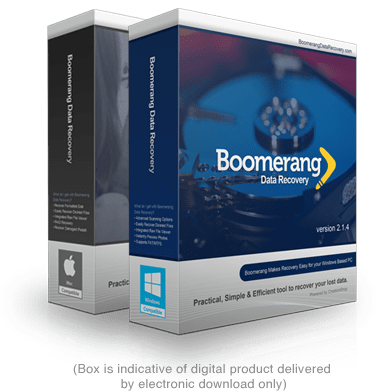 Boomerang Data Recovery for Mac and Windows