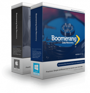 Boomerang Data Recovery Software